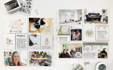 Larkindesign Project Life 2019 | September Bi Monthly Layout 02 ft Studio Calico