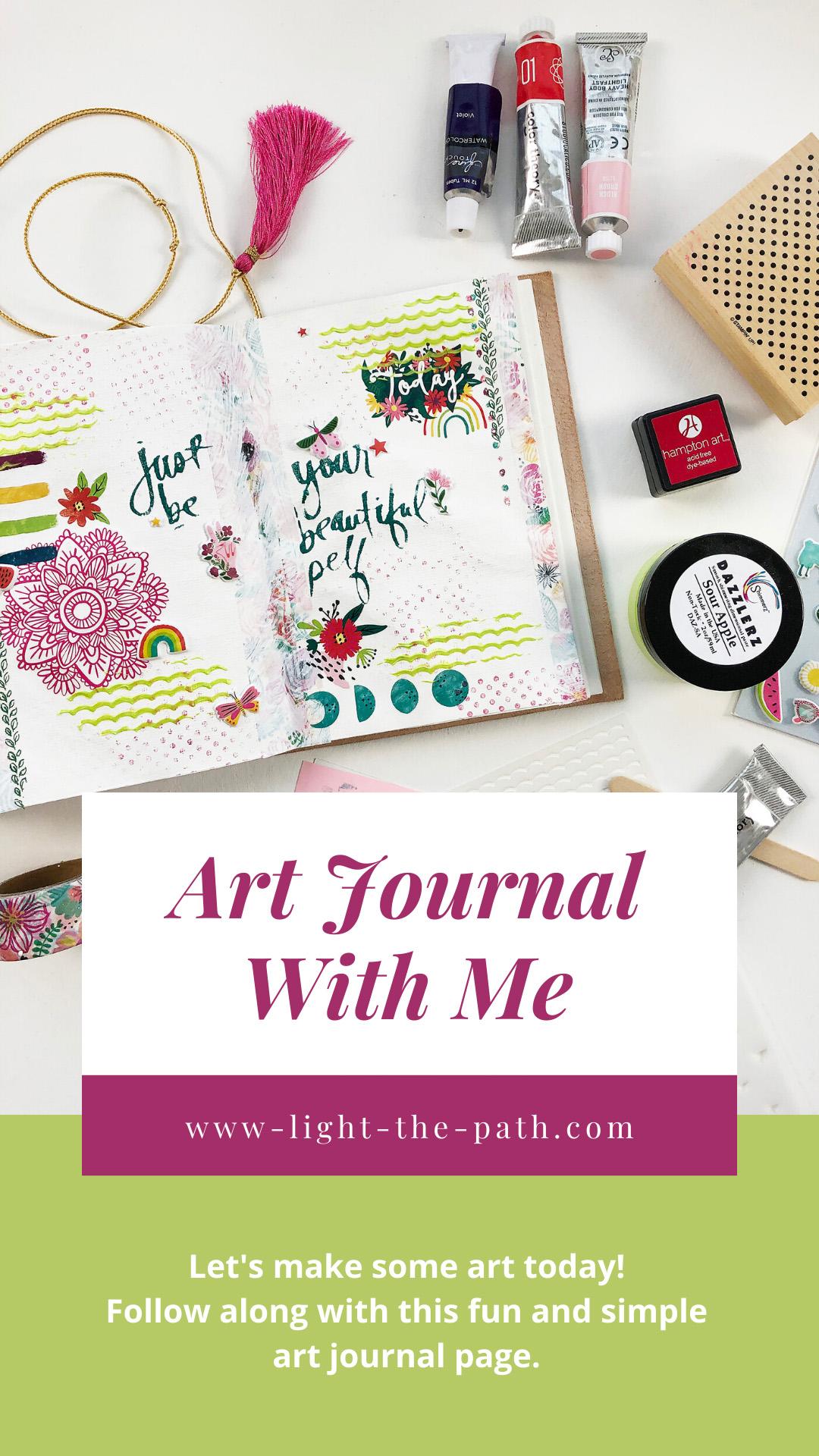 Larkindesign Art Journal Volume 04   Your Beautiful Self