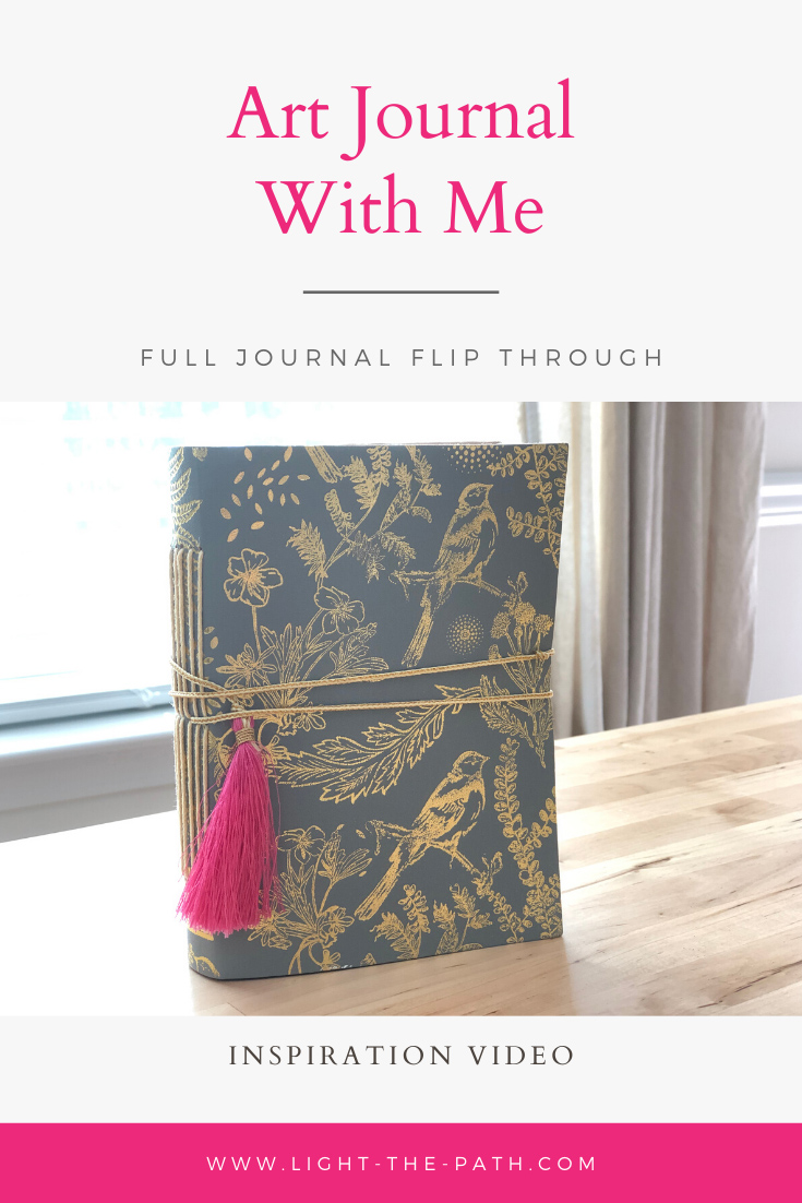 Larkindesign Art Journal Volume 04   Final Journal Flip Thru