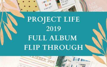 Larkindesign Project Life 2019 Album Project | Full Album Flip Through
