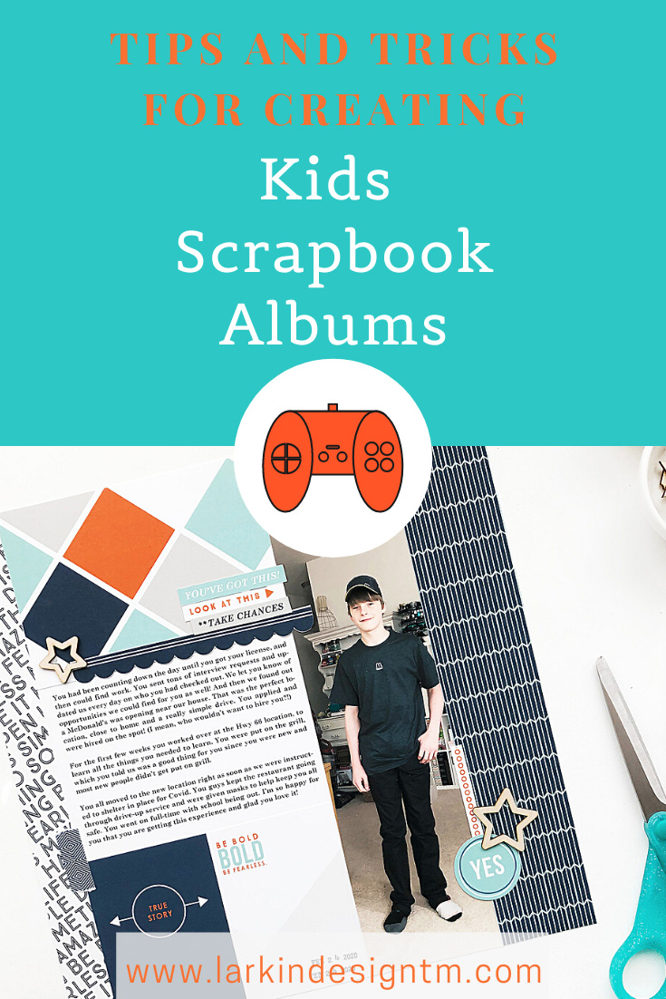 Larkindesign Kids Albums Project | Addison Edition | First Job