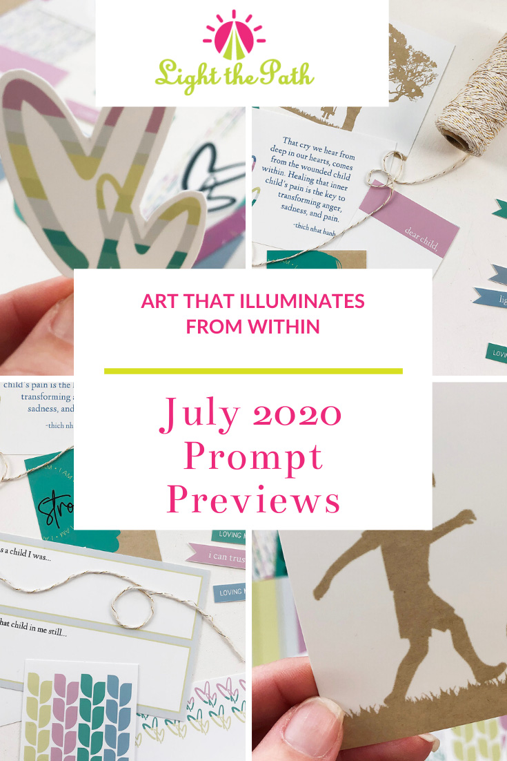 Light The Path July 2020 Prompt Previews