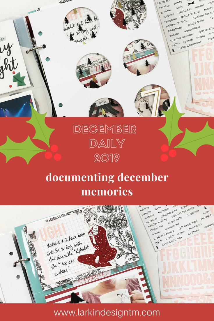 Scrappy Christmas In July | December Daily 2019 Day 07