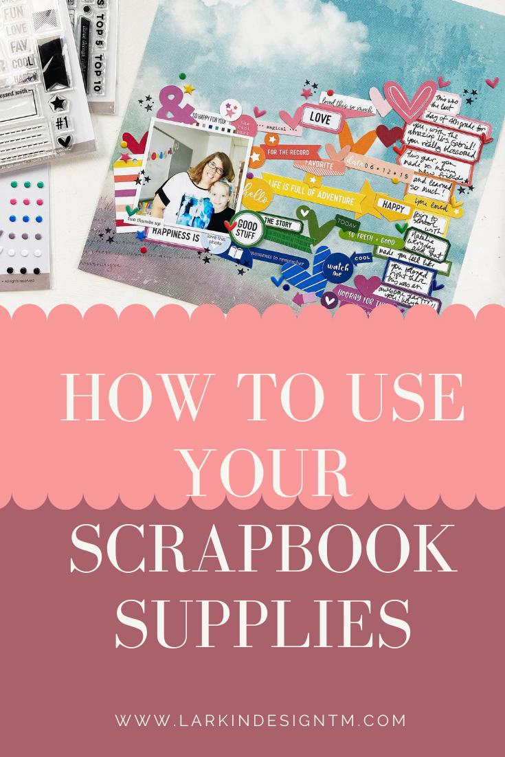 Larkindesign Scrapbook Your Kids   Embelynn's Last Day of 4th Grade