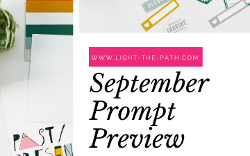 Light The Path September Prompt Previews