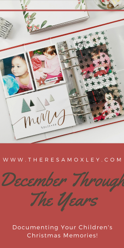 New Project Introduction | Kids December Through The Years!