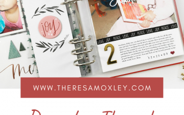 Theresa Moxley Kids December Through The Years Project | Natalie Years Two And Three